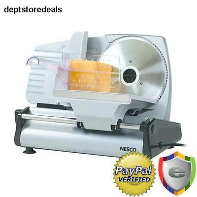 Commercial Slicer Machine Stainless Steel Blade Electric Slicing Cut Meat Food
