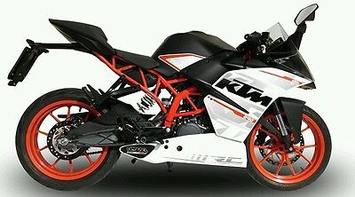 KTM RC390 GPR Exhaust Systems Deeptone Ghost Steel Silencer Road Legal