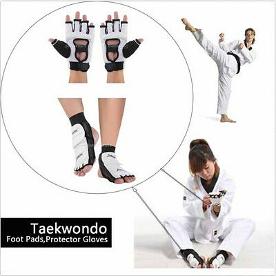 7188 Exercise Karate Sparring Taekwondo sport Gloves Foot Guard protective gear