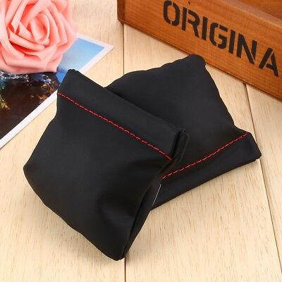 Leather PU Replacement Carrying Pouch Case Bag For iPhone HTC Earphone Carry Bag