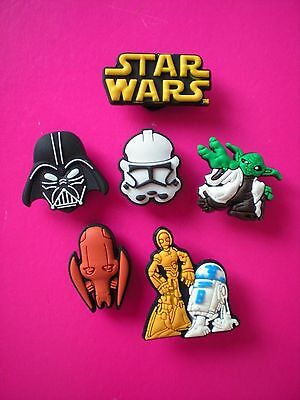 Clog Charm Shoe Button For Accessories For Wristband 6 Star Wars