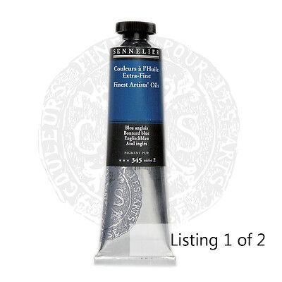 Sennelier Extra Fine Artist Professional Oil Paint 40ml 72 Colours Listing 1/2