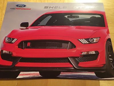 2015 Ford Mustang Shelby GT350 6-Page Original Sales Brochure