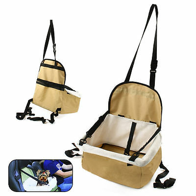 Pet Car Booster Seat Soft Portable Safety Dog Puppy Carrier Blanket Travel Bag