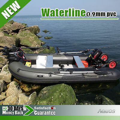 0.9mm 3m  Inflatable Boat Inflatable Rafting Fishing Dinghy Tender Pontoon Boat