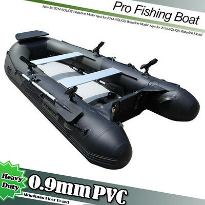 0.9mm 3.3m  Inflatable Boat Inflatable Rafting Fishing Dinghy Tender Pontoon Boa