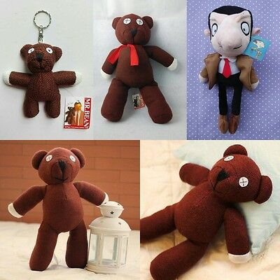 Mr. Bean Bean Bear Plush Stuffed Soft Toy Doll Figure New gift