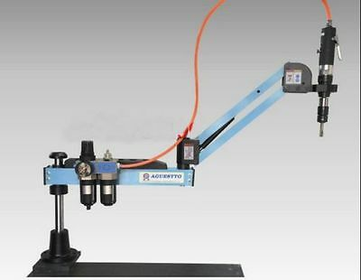 New Pneumatic tapping machine arm and quick/rapid change tapping collet M3-M12