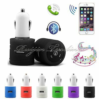Wireless Bluetooth Car Kit MP3 Player Audio FM Transmitter SD Dual USB Charger