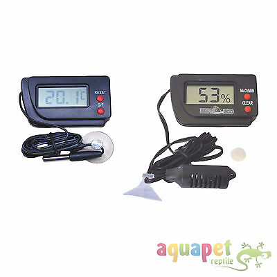 LCD Digital Thermometer with Remote Probe and LCD Digital Hygrometer