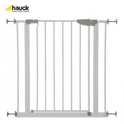 Hauck Child Safety Stairs Barrier Gate Compression Fit 75-81cm Width - White