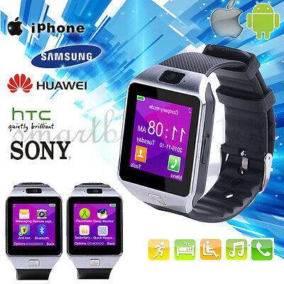 Fashion Men's Women's Bluetooth Smart Watch for Android IOS Sports Wrist Watch