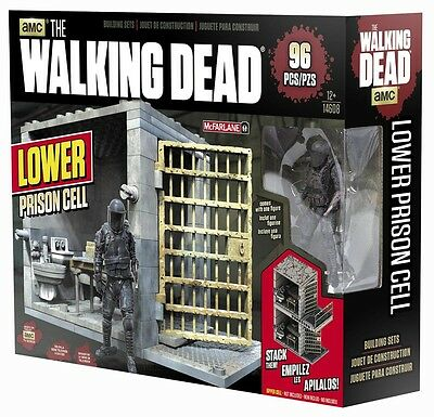 McFarlane Toys The Walking Dead Building Set - Lower Prison Cell