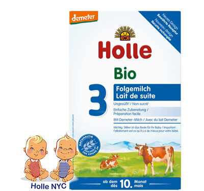 Holle Stage 3 Organic Baby Formula 10 month plus 600g Free Shipping