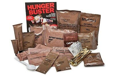 Ration Pack Meals Ready to Eat 24hr Emergency Food Chicken Italiano