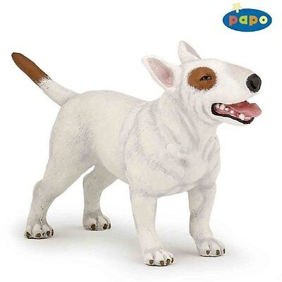 "Figure - 3.5""/9cm Hand Painted English Bull Terrier - Papo"