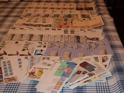 Bulk Lot FDC Envelopes Australia (Stamps)  No duplication