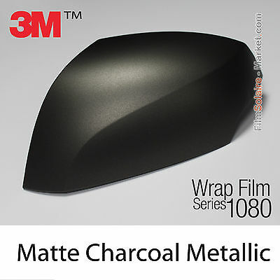 20x30cm FILM Matte Charcoal Metallic 3M 1080 M211 Vinyle TOTAL COVERING Wrap