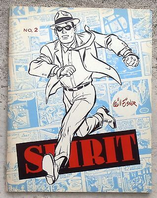 The Spirit No 2 July 1968 ( 1942 daily strips) Limited edition TBE Will Eisner