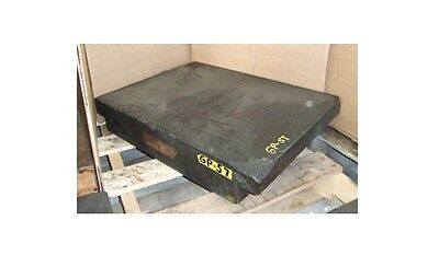 "18"" x 24"" x 4"" Granite Surface Plate Inspection Black"