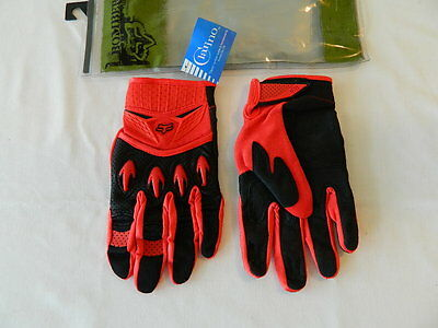 Fox Bomber Glove 05 Red Size : 10-L No. 03108-003-017