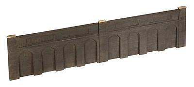 Bachmann 44-225 2 x Stone Low Relief Retaining Walls 168mm x 10mm x 85mm T48Post