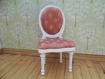 Dolls House Miniatures 1/12th Scale Dressing Table White Chair New (DF1518)