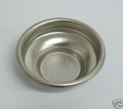 COFFEE FILTER BASKET 7 / 9 gr 1 CUP  -  58mm ID for espresso coffee machines