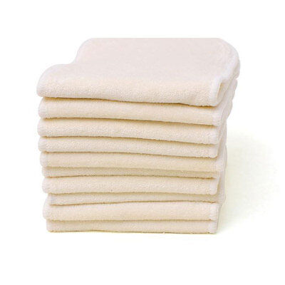 20 Bamboo Nappy Inserts / Liners for Modern Cloth Nappies