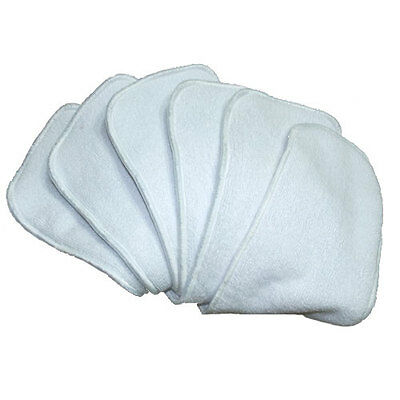 10 Microfibre Inserts Liners for Modern Cloth Nappies - Absorbent & Breathable