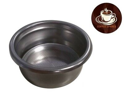 COFFEE FILTER BASKET 14 / 16gr 2 CUP 58mm ID with ridge espresso coffee machines