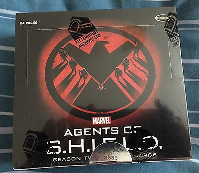 Agents Of Shield Season 2 Sealed Box Rittenhouse Autograph Autos Rare