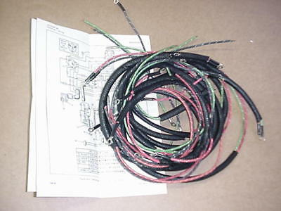 new harley flh complete wiring harness bull picclick new 1959 1964 harley sportster complete wiring harness