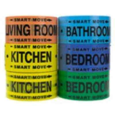 Moving Supplies - 2 Room Labeling Tape--tape for Your Bedroom  Living Room  and