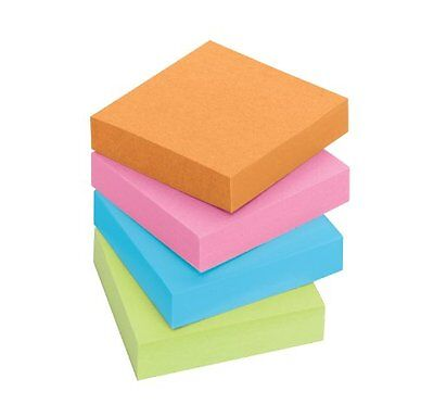 Post-it Notes Super Sticky Pads in Marrakesh Colors 2 x 2 90-Sheet 8/Pack
