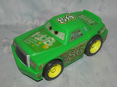 Disney Mattel Cars Shake N Go Chick Hicks HTB Green - Talks, Works Great 6""