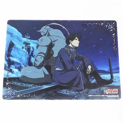 KO Fullmetal Alchemist Clear Plate Poster mini shitajiki pencil board Japan 39