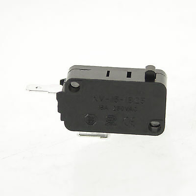 (1) XV-15-1B25 NC Contact Basic Micro Switch SPST Pin Plunger Type Bolt Terminal