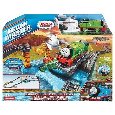 Fisher-Price Thomas & Friends TrackMaster Percy And Harold's High-Flying Rescue