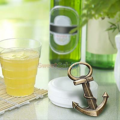 Aeneous Anchor Shaped Beer Bottle Opener Creative Gift for Birthday Party