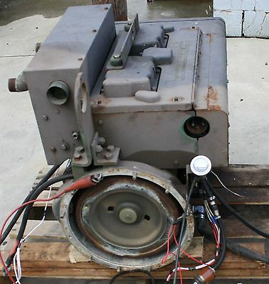 Onan Military Surplus 4 Cylinder Diesel Engine Fits: MEP-003A 10KW Generator