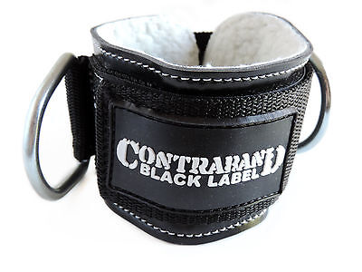 CLEARANCE 67% OFF Contraband Black Label 3025 3inch 2-Ring Pro Ankle Cuff!
