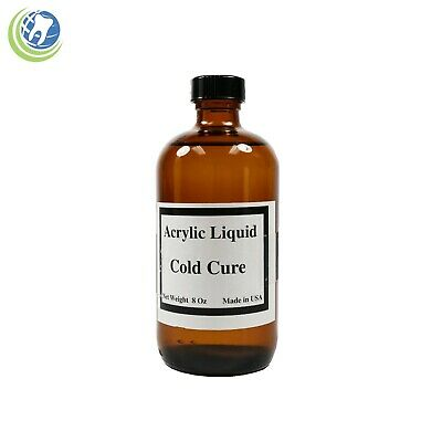 Dentist Dental Laboratory Fast Tooth Cold Self Cure Acrylic Liquid Monomer 8 oz