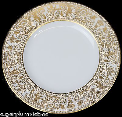 Wedgwood GOLD FLORENTINE W4219 (White Body) Bread / Butter Plate