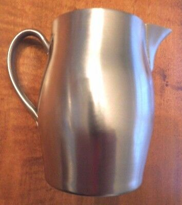 "PAUL REVERE REPRODUCTION 3.25"" SILVER PLATE CREAMER PITCHER by WM ROGERS  1052"