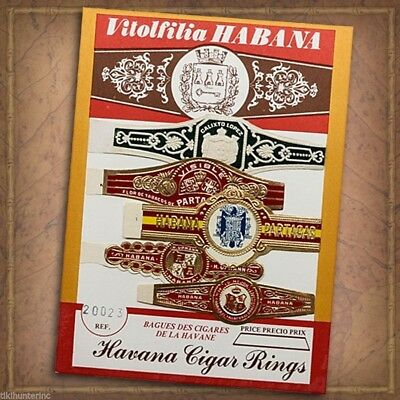 Vintage Havana Cigar Band Rings Authentic Work Of Art Collection 20023