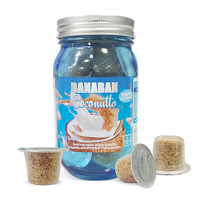 BANABAN Coconutto - Coconut Oil Powder Pods (Certified Organic) FREE SHIPPING
