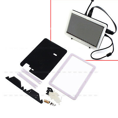 "Hot Sale Bracket for 7"" USB Capacitive Touch Screen LCD HDMI Raspberry Pi 2 B/B+"
