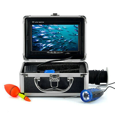 "7"" TFT LCD HD 600TV 15M Underwater Fishing Video Camera System Fish Finder"