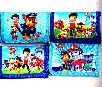 new 24pcs Paw Patrol children cartoon pvc wallets party gift kids accessories